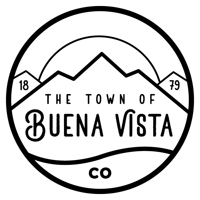 The Town of Buena Vista Colorado 1879 outline